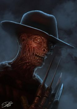 My version of Freddy Krueger by Disse86