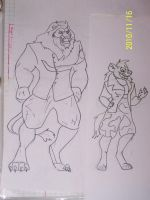 General Scar and Shenzi by Joy by coonk9