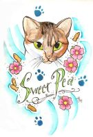 Sweet Pea for ET by skullberries