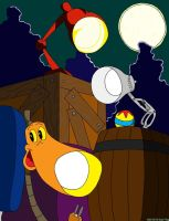 The Brightest Lamps You'll Ever Meet by tie-dye-flag