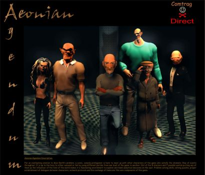 Aeonian Agendum (some of the game characters) by phibal12
