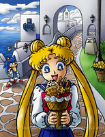 A Delicious Sundae Visit by SailorMoonAndSonicX