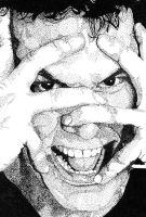 Dane Cook Stipple by therickhoward