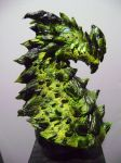 Caustic Dragon sculpture by b1938dc