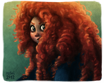 Brave - Merida by Iraville