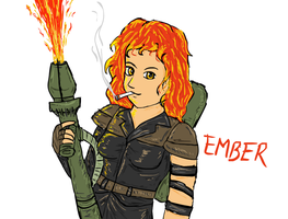Ember humanized by glue123