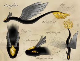 Seraphine - Ref Sheet by Marristia
