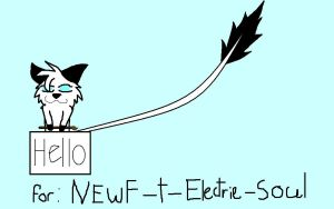 for newf-t-electrie-soul by wolfchiro by RedNoctali