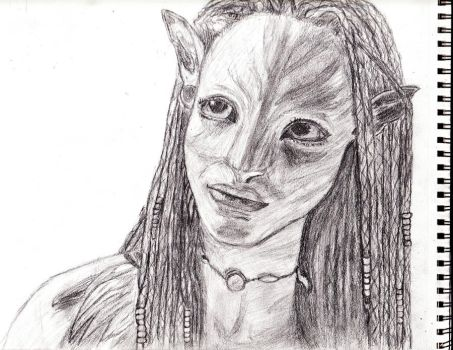 Neytiri Traditional Finished by Hysvear