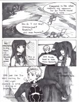 Fate Extra - Awkward Conversation pg. 1 by Mitzi-Rozuco