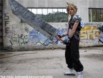 Cloud's Buster sword GIF by The-Final-Distance