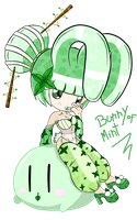 Adopt a SexyBunnyGirl of Mint by LowRankRaccoon969