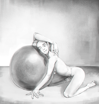 practice pose lady 2 by Dastro