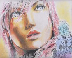 lightning in faber pencil by Amanoobaricom