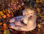 nude in leaves5 by carvenaked