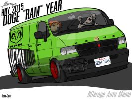 2015 DOGE RAM YEAR by ngarage