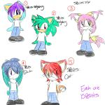 FemaleSonic Adoptables+Closed+ by fansonic