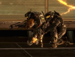 Halo Reach: Cornered by purpledragon104