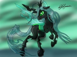 Queen Chrysalis by MusicBrushLoveland