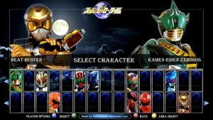Kamen Rider vs. Super Sentai by YorkeMaster
