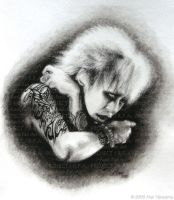 Kyo 'Shadow' HANDDRAWN by Mari-chan05
