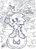 random sonic doodle thing by YASSDENSWH