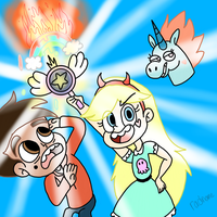 Star and Marco by radname