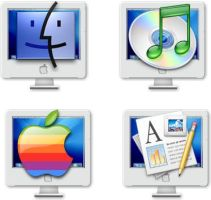 iMac icons by elsie432