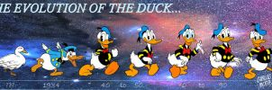 Donald Duck Evolution by CarlosMota