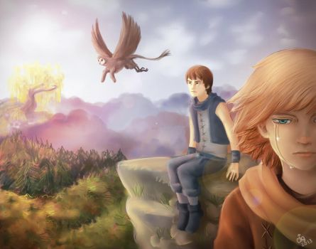 Brothers: A Tale Of Two Sons by ChibiStarChan