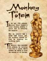 Monkey Totem by Charmed-BOS
