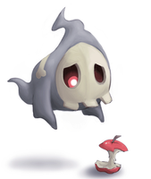 Sad Duskull by Kadew-C