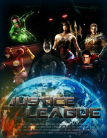 JUSTICE LEAGUE by MrSteiners