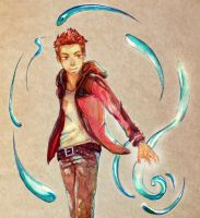 glitteringpeaches' OC Hai by angel407