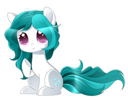 MLP - Chibi Dew Droplet Commish by haydee