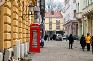 Red Phonebooth by sztewe