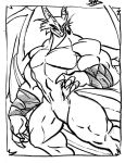 Patreon Sketches - Metadragon by SpottedAlienMonster
