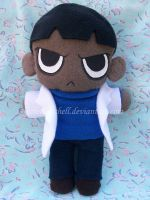 Justice League U. Milo plushie by VioletLunchell