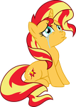 Sad Sunset Shimmer by TheShadowStone