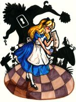Alice Alice Alice In Wonderland by Yaraffinity