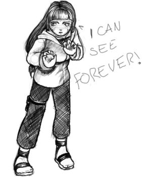 HINATA CAN SEE FOREVER by pague