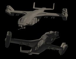 Big Bird dropship 3D update by stehull