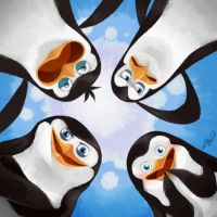 penguins of madagascar by kairean