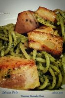 Salmon Pesto by viennidemizerable