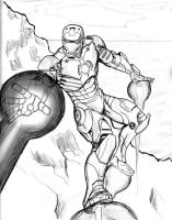 Iron-man by alfred183