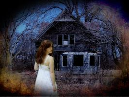 the Eerie and Eroding House by 3punkins