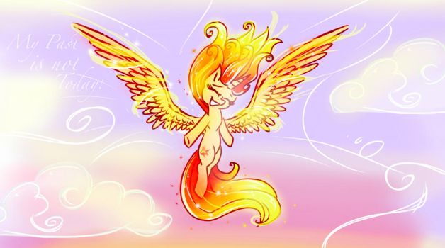 Like the Phoenix burning bright  by HiccupsTheNoodle