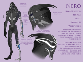 Reference - Nero by SpartaDog13