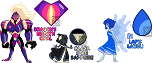 PayPal Gem Adopts- Knight/Magic Themed (CLOSED) by XombieJunky