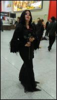 Morticia Adams by MJ-Cosplay